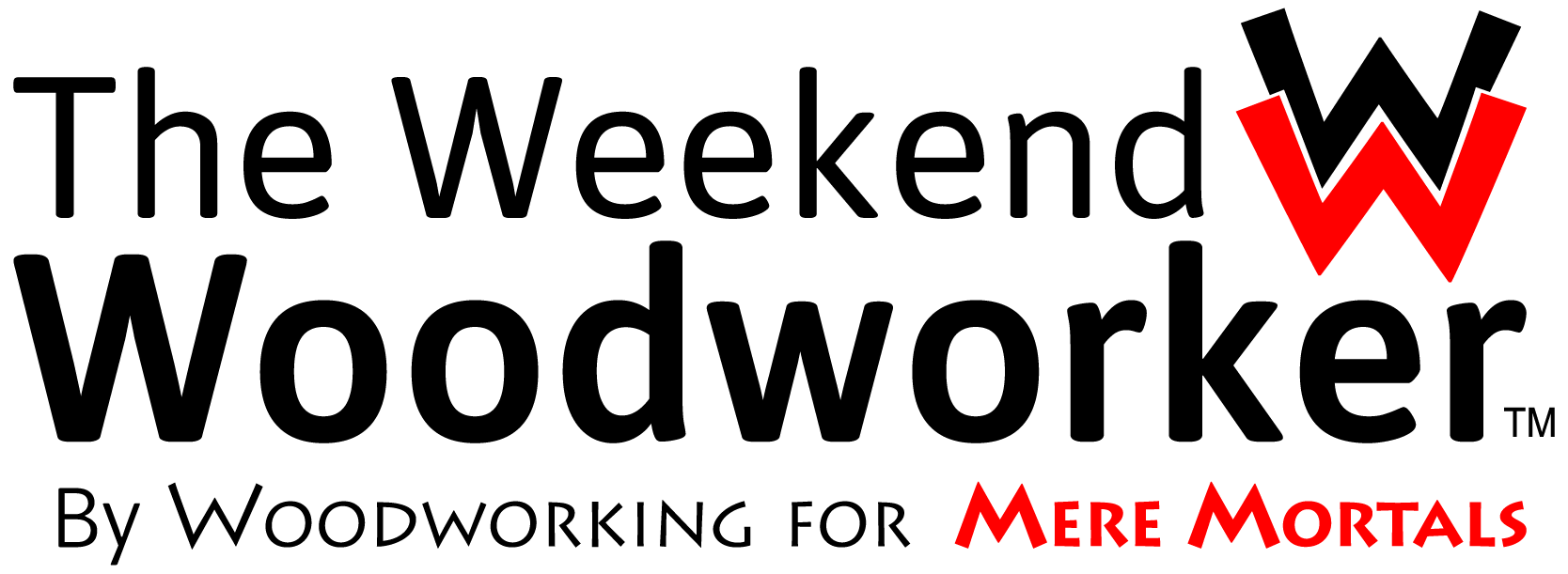 The Weekend Woodworker Logo